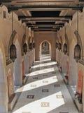 清真寺阿曼qaboos苏丹 免版税库存照片