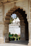 清真寺,德里红堡 德里新的印度 免版税库存图片
