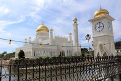 清真寺,文莱 库存图片