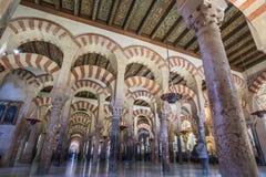 清真寺,科多巴,西班牙 图库摄影