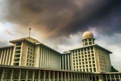 清真寺,风景,自然, clauds,天空,天空,日落,日出,湖, 免版税库存图片