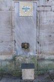 清真寺洗净液设施 免版税库存照片