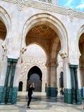 清真寺 卡萨布兰卡 库存图片