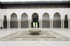 巴黎清真寺 免版税库存照片