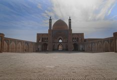 清真寺Agha Bozog在喀山, 免版税库存照片
