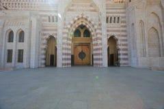清真寺Al穆斯塔法 免版税库存图片