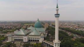 清真寺Al阿克巴在苏拉巴亚印度尼西亚 影视素材