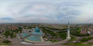 清真寺Al阿克巴在苏拉巴亚印度尼西亚 VR 360 影视素材