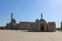 清真寺Hazrati Imom和koran博物馆在塔什干,乌兹别克斯坦 图库摄影