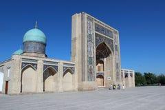 清真寺Hazrati Imom和koran博物馆在塔什干,乌兹别克斯坦 免版税库存照片
