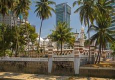 清真寺Jamek在吉隆坡 图库摄影
