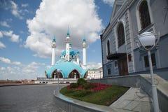 清真寺Kul-Sharif 免版税图库摄影