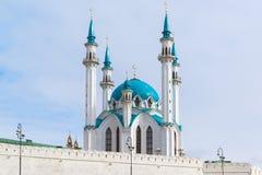 清真寺Kul-Sharif coul喀山清真寺俄国sharif tatarstan 免版税库存图片