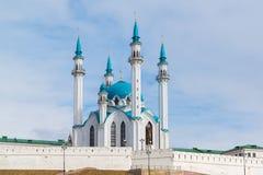 清真寺Kul-Sharif coul喀山清真寺俄国sharif tatarstan 免版税库存照片