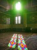 清真寺Masjid在Qom,伊朗-阿訇哈桑AlAskari清真寺  库存照片