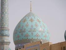清真寺Masjid在Qom,伊朗- Jamkaran清真寺  免版税库存图片