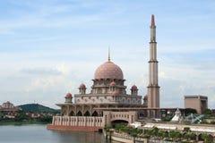 清真寺putrajaya 库存照片