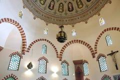清真寺Qazim在佩奇匈牙利 图库摄影