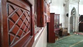 清真寺qibla 免版税图库摄影