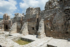 清真寺ruines在萨拉热窝 图库摄影