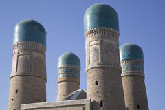 清真寺samarkanda乌兹别克斯坦 库存照片