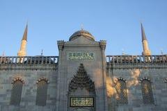 清真寺suleymaniye 免版税图库摄影