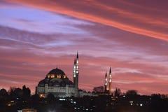 清真寺suleymaniye 免版税库存图片