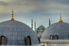清真寺sultanahmet 库存照片