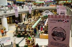 清莱,泰国, 8月21-2015 :咖啡和茶节日2015年 库存图片