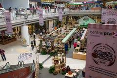 清莱,泰国, 8月21-2015 :咖啡和茶节日2015年 免版税库存图片