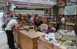 清莱,泰国, 8月21-2015 :咖啡和茶节日2015年 图库摄影