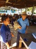 清莱,泰国- 12月19 :未认出的亚裔官员 免版税图库摄影