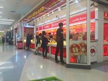 清莱,泰国- 10月18 :未认出的人购买jewe 图库摄影