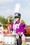 清莱,泰国- 9月19 :未认出的学生playi 免版税库存图片