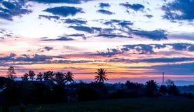 清莱,米领域泰国, 2015年11月 免版税图库摄影