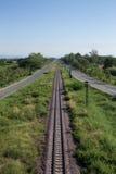 清迈市高速公路环行路  免版税库存照片