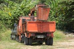 清迈自治市桶卡车  库存图片