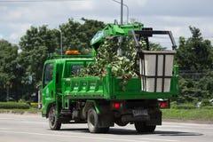 清迈自治市桶卡车  免版税库存照片
