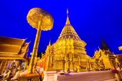 清迈,泰国寺庙 免版税图库摄影