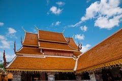 清迈,泰国素贴土井素贴建筑 库存照片