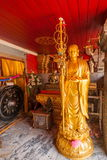 清迈,泰国素贴土井素贴画廊菩萨 免版税库存照片