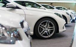 清迈,泰国- 3月28 -奔驰车新的最大轮子  库存照片