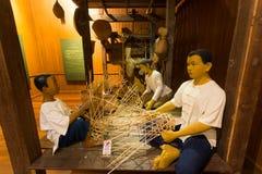 清迈,泰国- 2016年5月8日:城镇Mai's兰纳遗产中心,是一个全新的城市博物馆 库存照片
