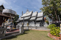 清迈,泰国- 1月17 :美丽的寺庙(Wat Sri素攀武里) 免版税库存图片
