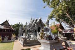 清迈,泰国- 1月17 :美丽的寺庙(Wat Sri素攀武里) 免版税图库摄影