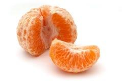 清除自己橙色 库存图片
