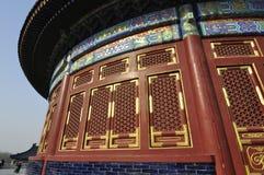 清代中国宫殿  免版税库存照片