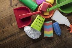 清洁产品 图库摄影