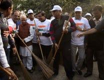 清洗印度竞选 免版税库存图片