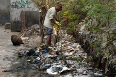 清洗印度 免版税图库摄影